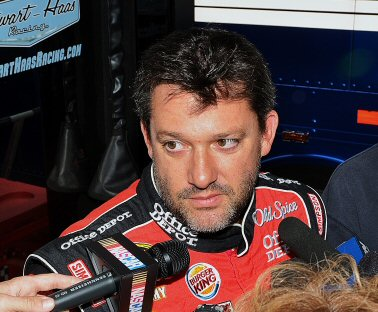 Tony Stewart Hauler Interview