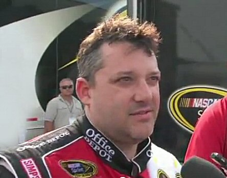 Tony Stewart - Talladega Interview