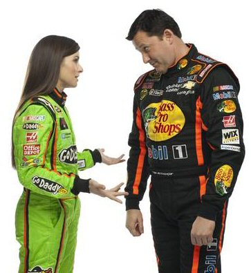 Danica Patrick & Tony Stewart Are Fast Friends 2013 USA Today