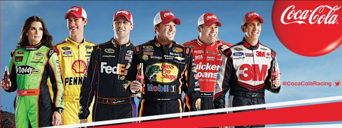 2013 Coca Cola Racing Family