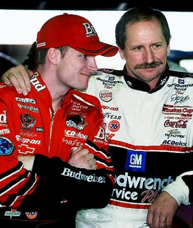 Dale Jr. and Dale Sr.