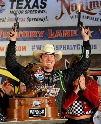 Kyle Busch Wins NRA 500 at Texas