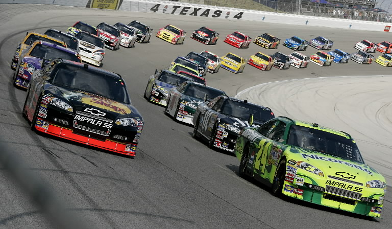 Nascar s guilt by association evilwordsmith for Nascar tickets for texas motor speedway
